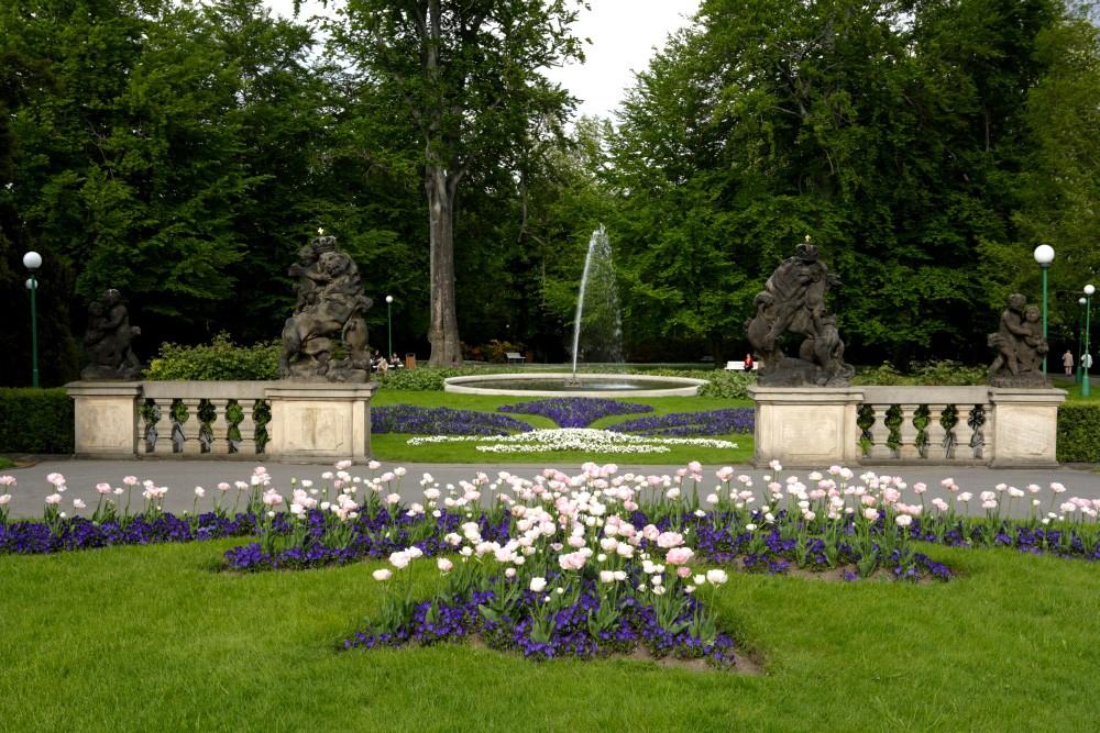 Royal Garden Prague Castle for visitors
