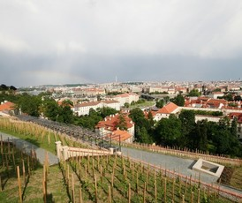 St. Wenceslas vineyard and Villa Richter