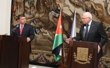 The King of the Hashemite Kingdom of Jordan comes to Prague for a state visit