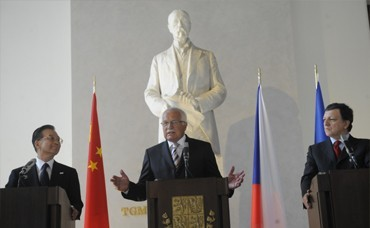 "Summit ""EU – People's Republic of China"" at Prague Castle"