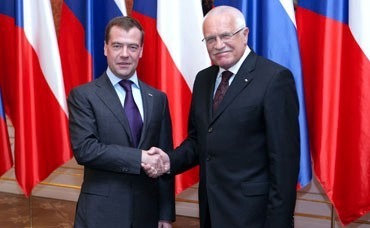 The President met with the President of the Russian Federation Dmitry Medvedev