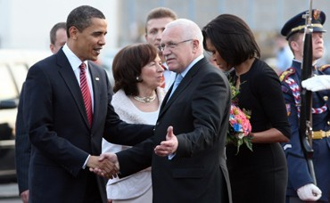 US President Barack Obama comes for a state visit to the Czech Republic