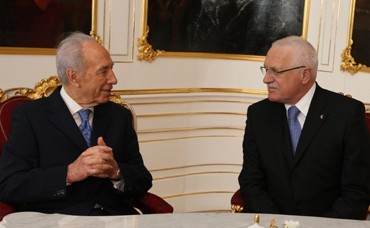 State Visit of the President of the State of Israel Shimon Peres to the Czech Republic