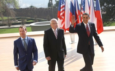 Summit of the Presidents of the Visegrad group countries in Carlsbad