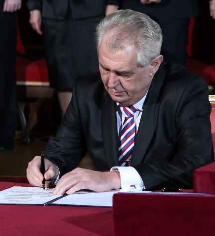 Inauguration of the President of the Czech Republic Miloš Zeman
